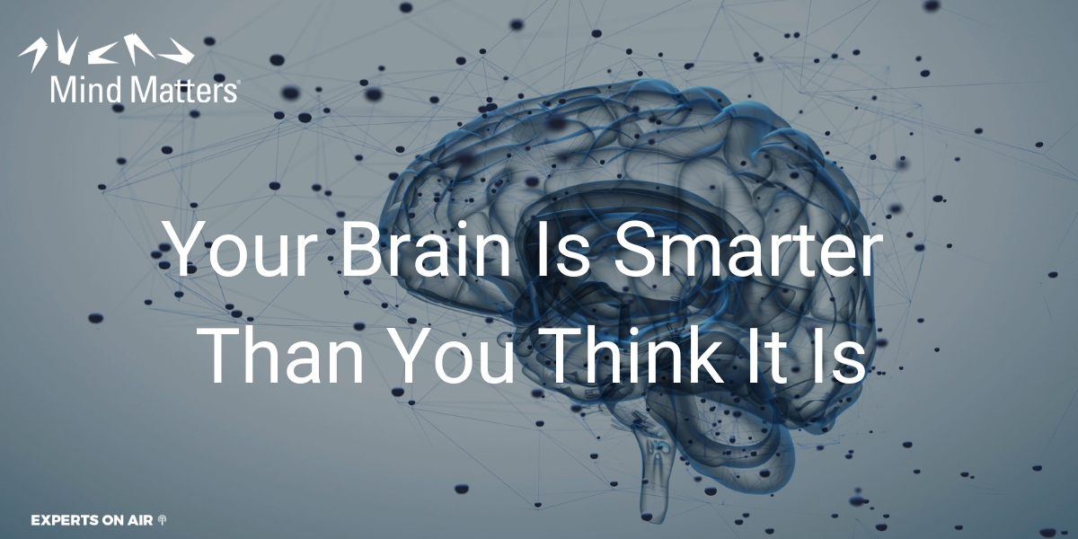 Your Brain Is Smarter Than You Think It Is
