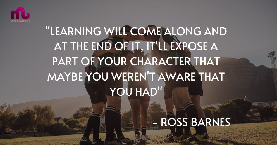 Quote - Ross Barnes