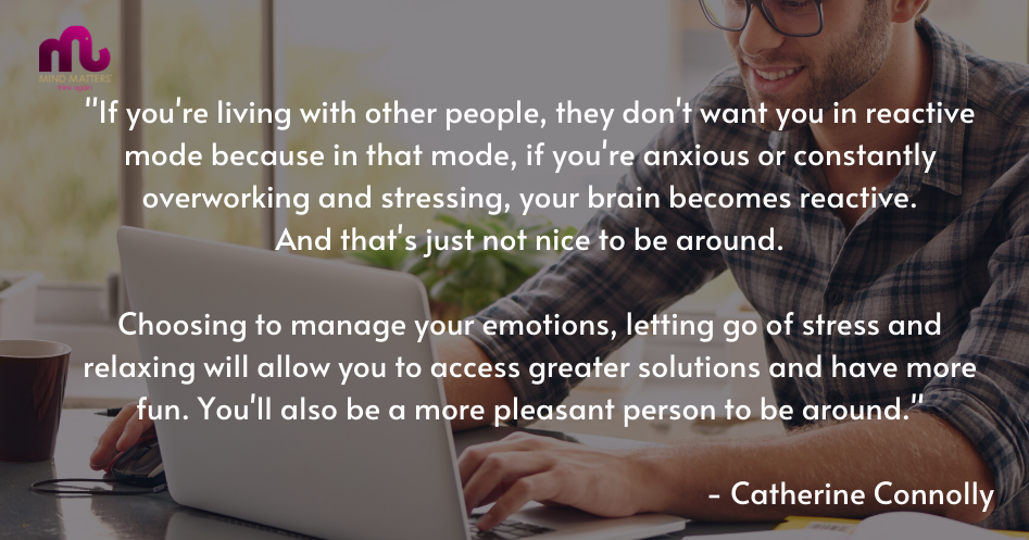 Smart habits for working from home - quote - Catherine Connolly