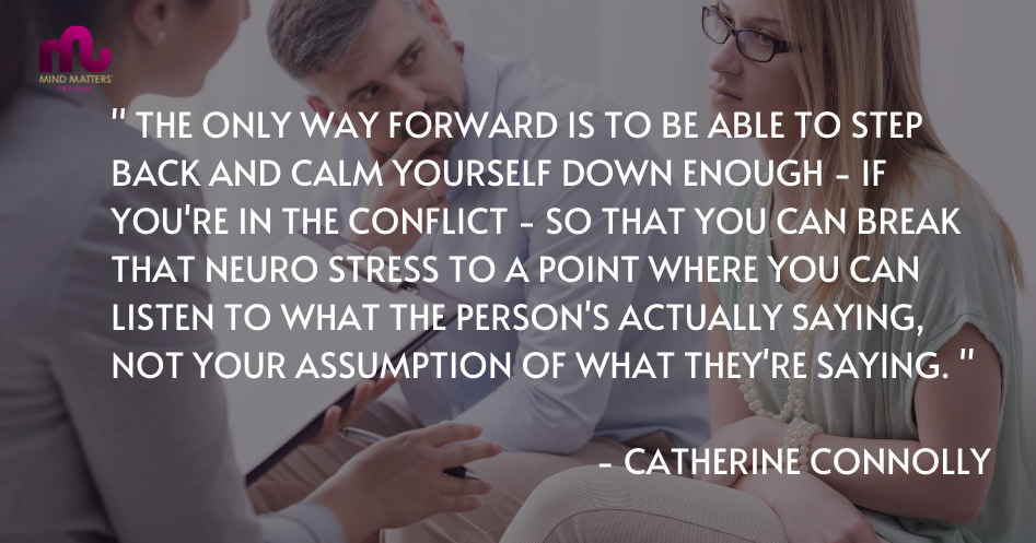 Why is mediation important - catherine connolly quote