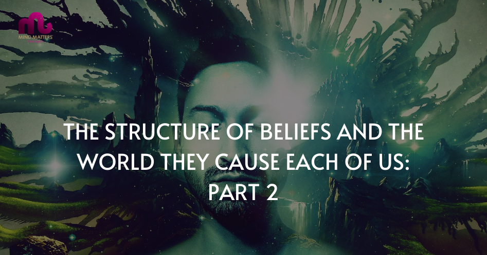 The Structure Of Beliefs And The World They Cause Each Of Us: Part 2
